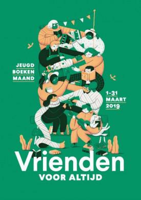 Affiche Jeugdboekenmaand 2019